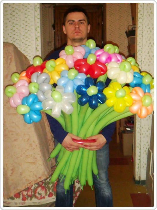 Поделки из воздушных длинных шаров только и длинных